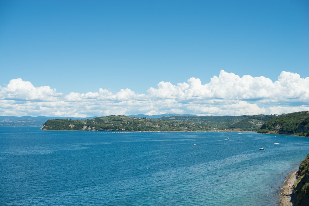 Coastline of Portoroz, Slovenia