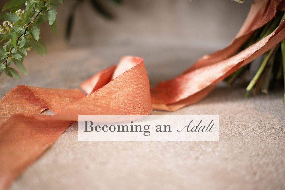 Becoming an Adult | Monday Musings