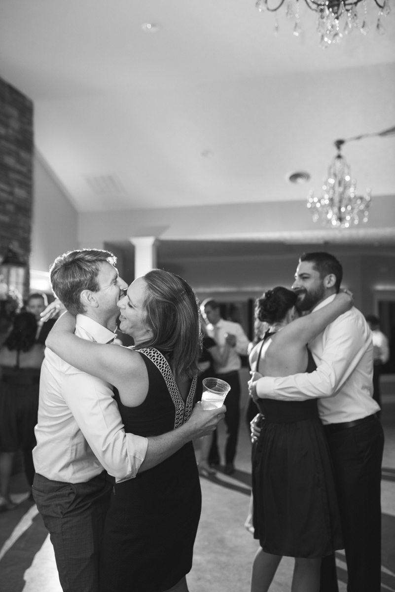 Elegant Navy and Blush Estate Wedding | Wedding Reception Dancing