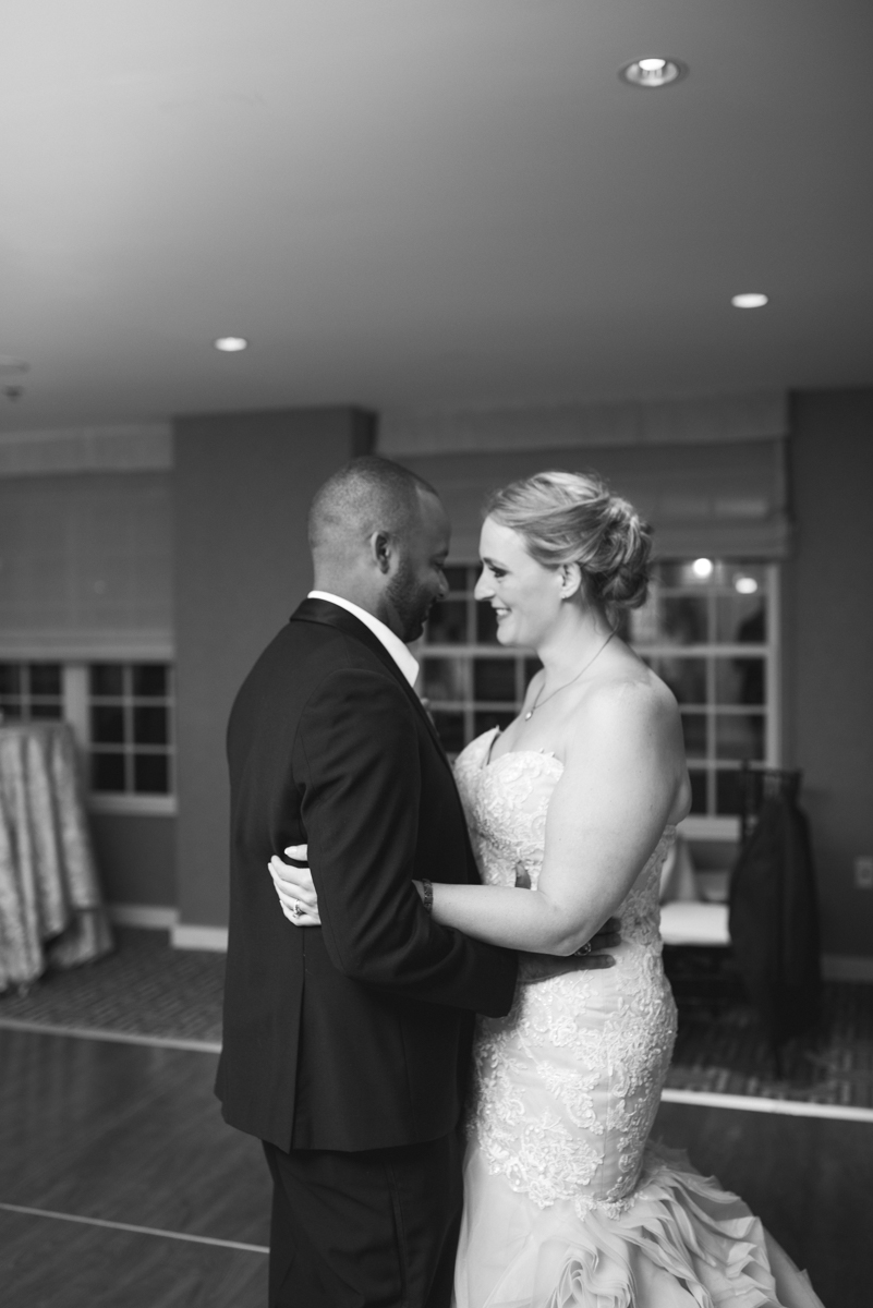 Downtown Classic Emerald and Black Tie Wedding | First Dance