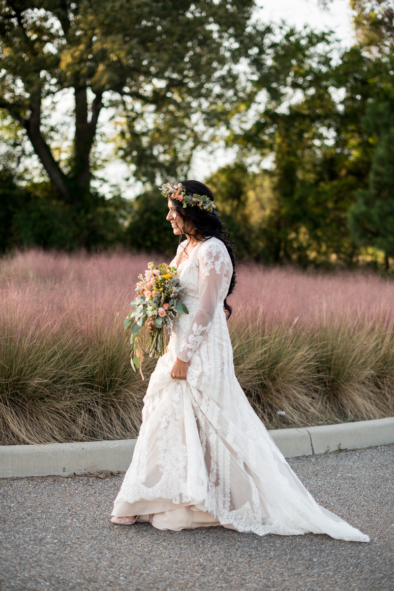 Intimate Boho Elopement | First Look