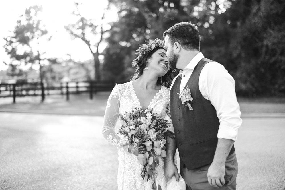 Intimate Boho Elopement | Bride + Groom Portraits