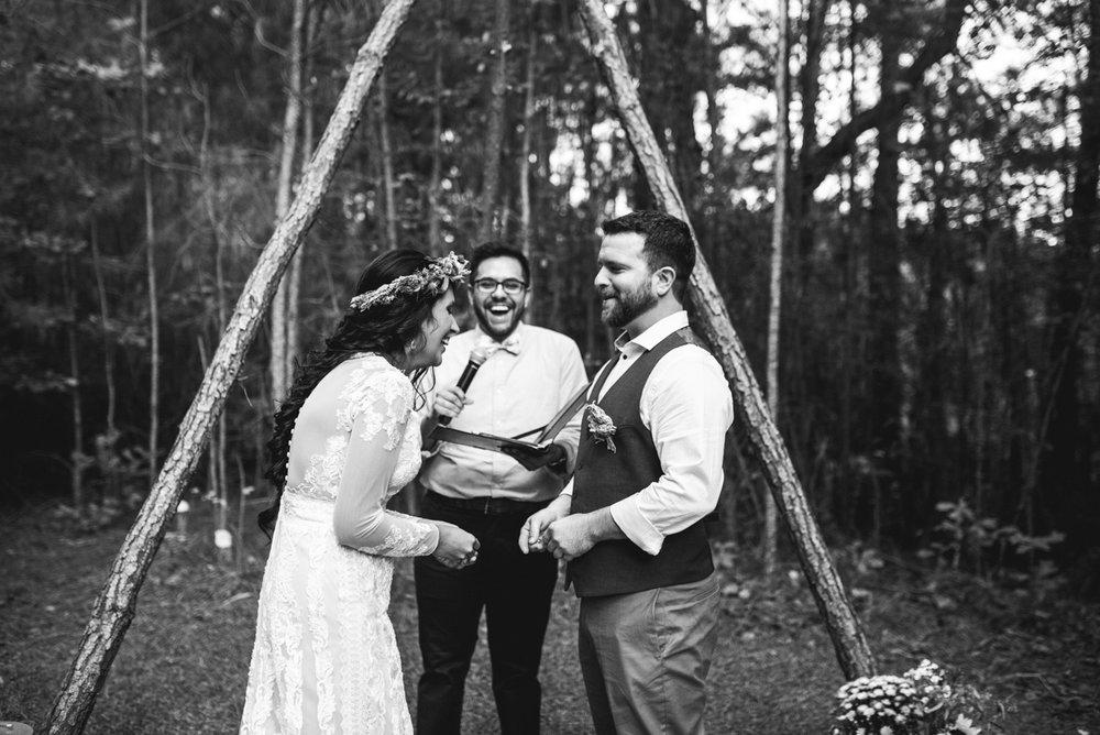 Intimate Boho Elopement | Boho Wedding Ceremony