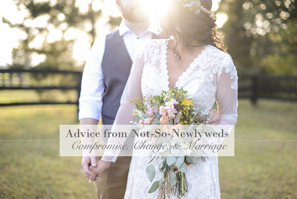 Advice from Not-So-Newlyweds: Compromise, Change, and Marriage