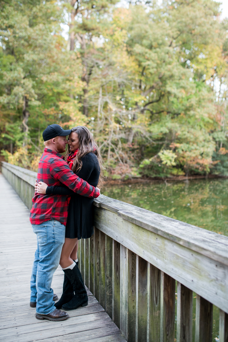 Noland Trail Fall Engagement Session
