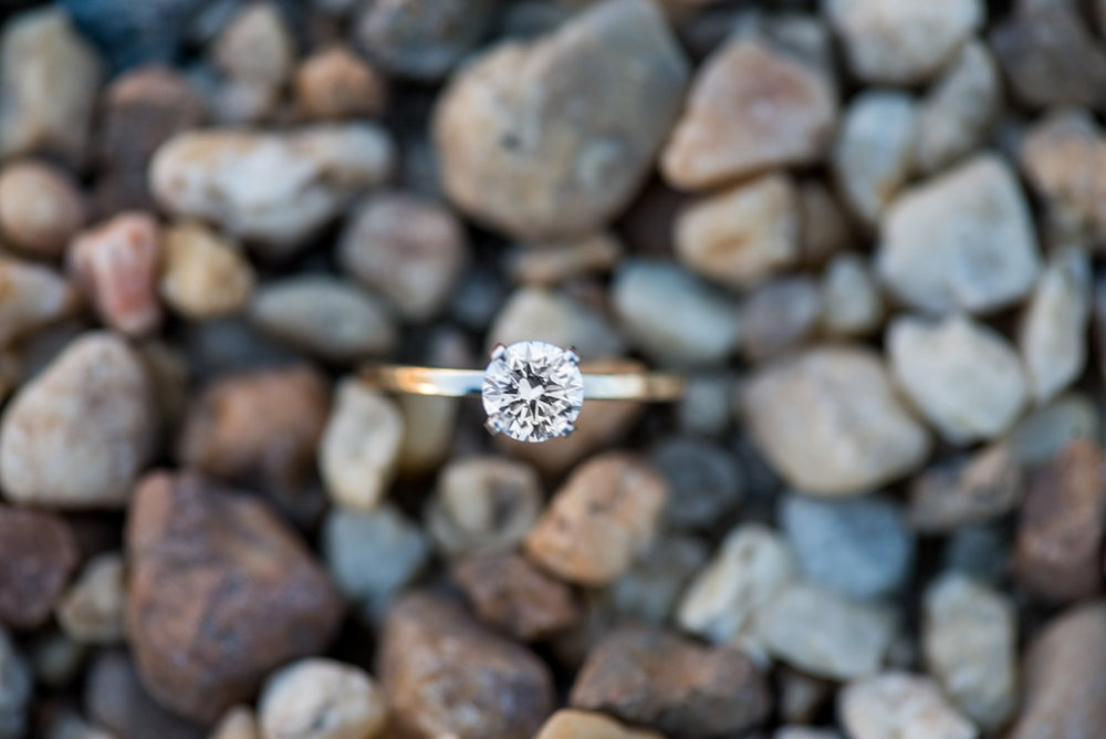 Rock Engagement Ring