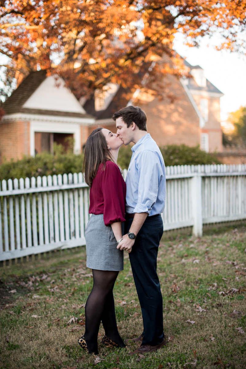 Classic Fall Engagement Session