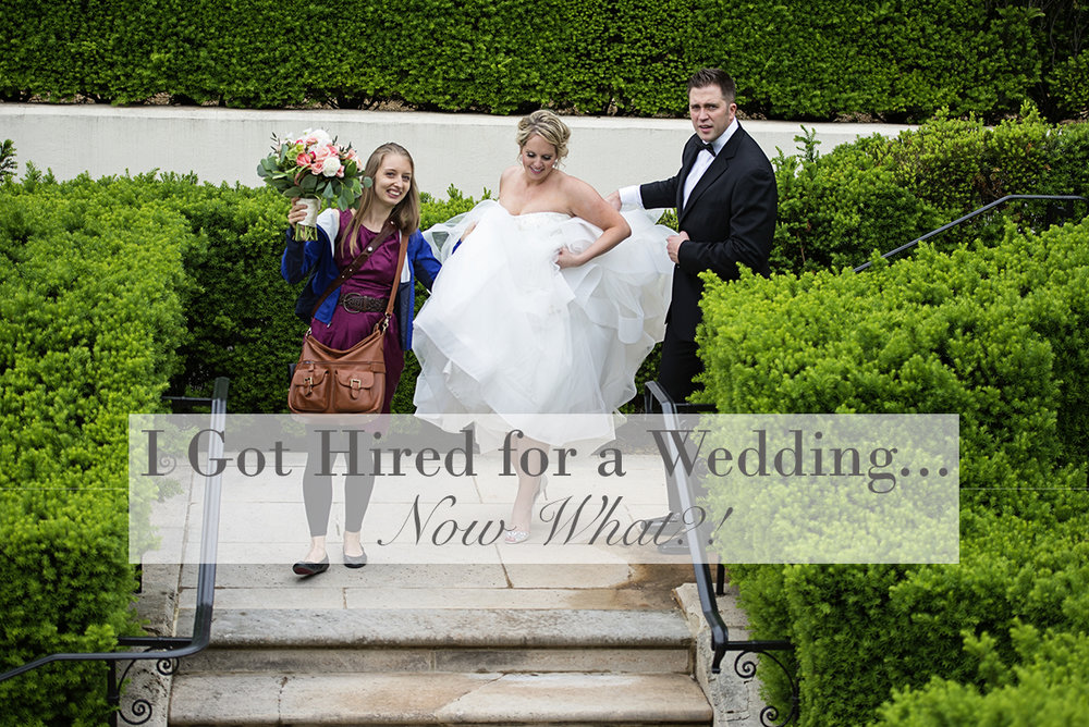 I Got Hired for a Wedding...Now What?!