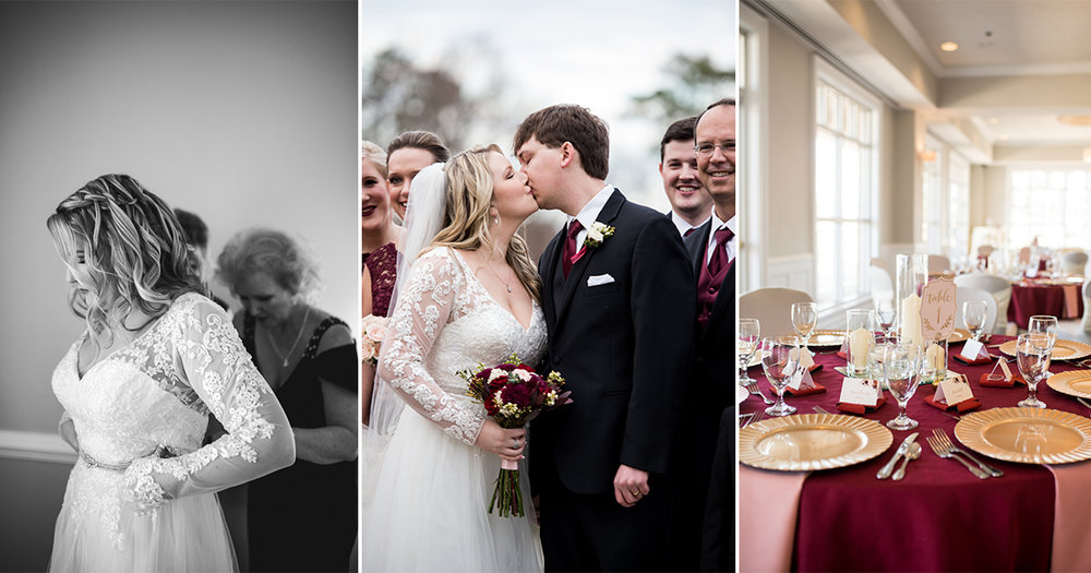 Burgundy and Blush Winter Wedding | Wedding reception dancing