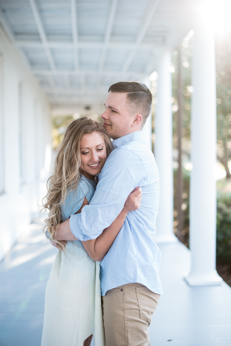 Joyful Sunset Engagement Session