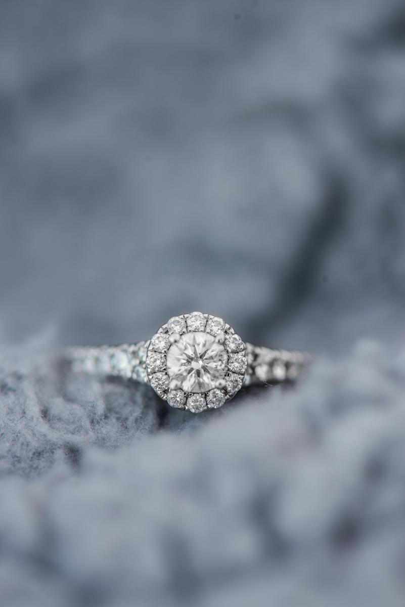 Gray Engagement Ring Shot