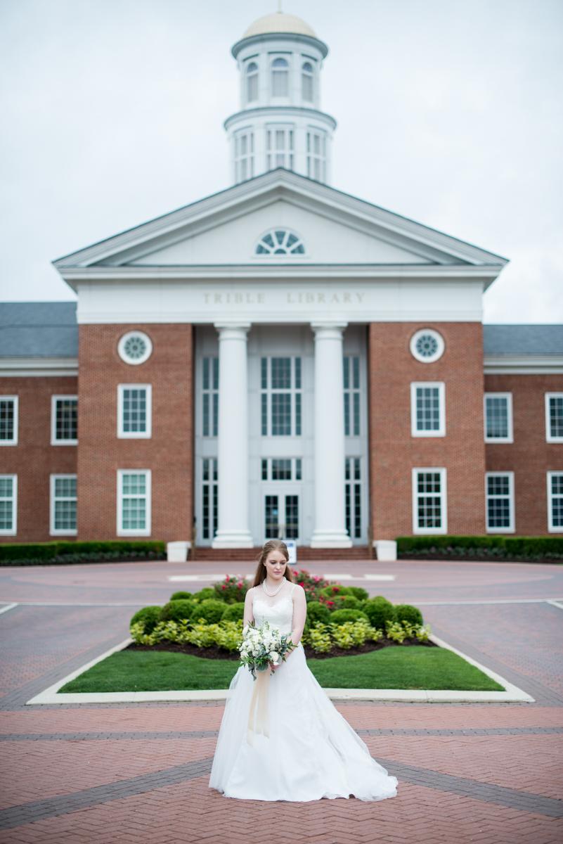 Elegant Spring Bridal Portraits