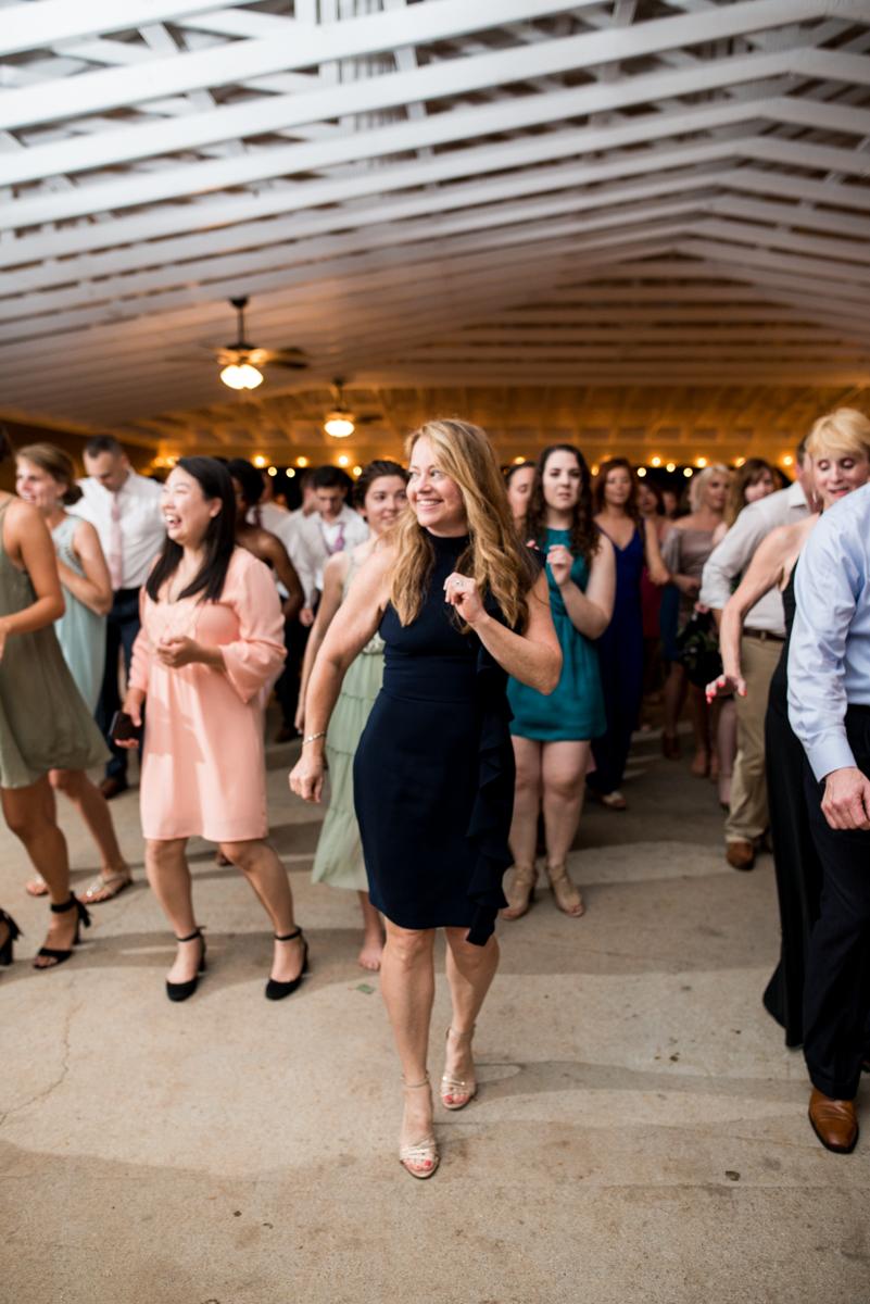 James Monroe Highland Wedding in Charlottesville | Wedding reception dancing