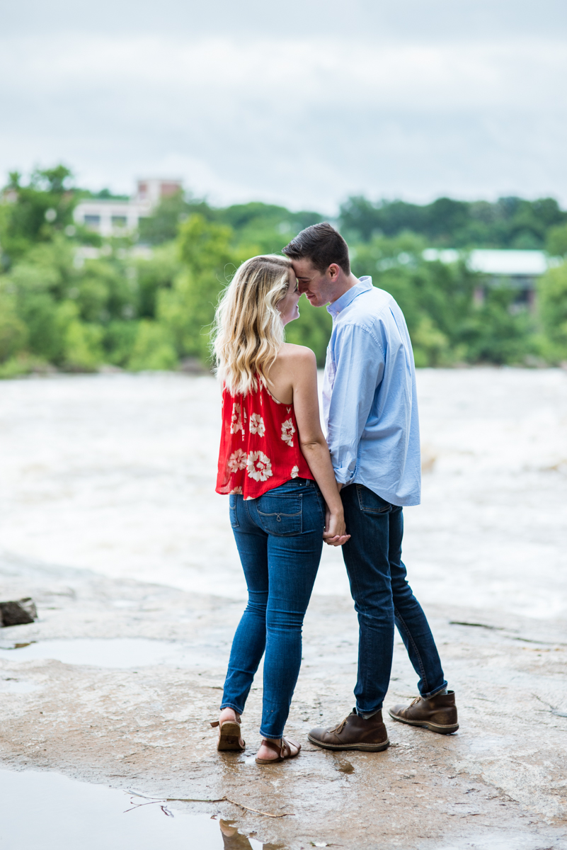 Elegant Classic Engagement Session in Richmond