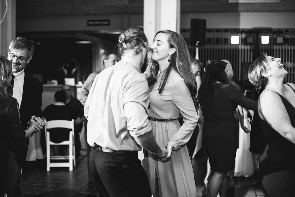 Blush and Burgundy Garden Wedding | Wedding reception dancing