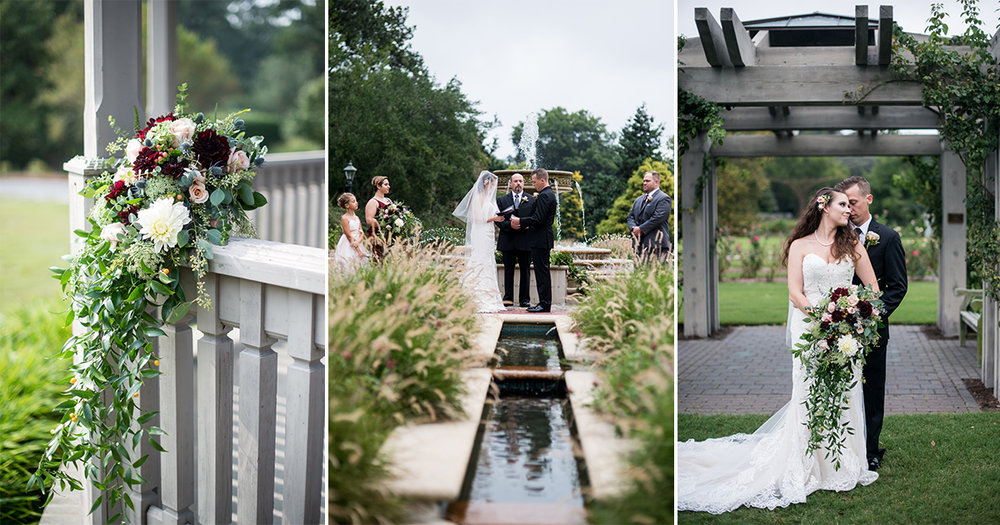 Norfolk Botanical Gardens Wedding | Norfolk Wedding Photographer | Leonard + Elysse — Hampton Roads + Virginia Wedding Photographer | Maria Grace ...