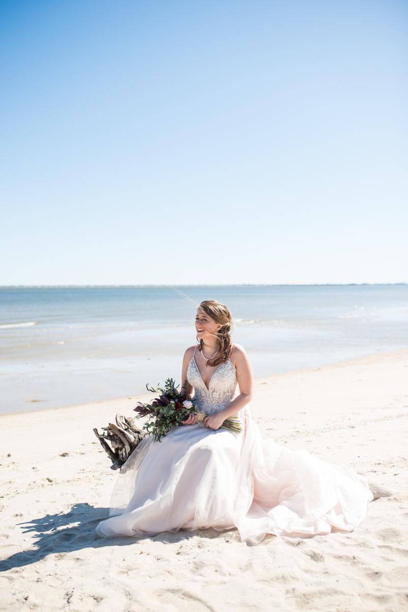 Windswept Beach Elopement