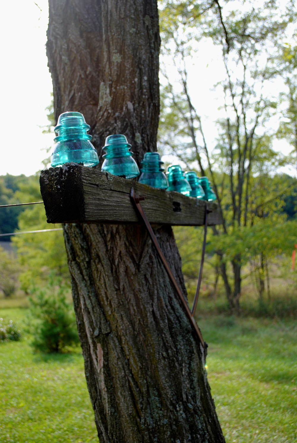 Insulators as far as the eye can see...
