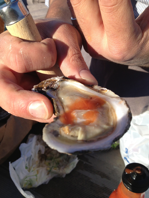 oyster guy.