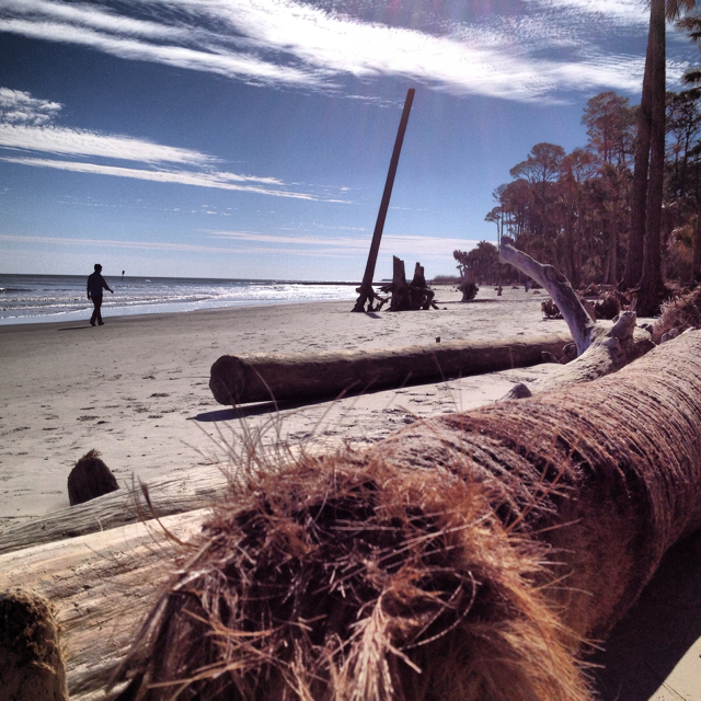 Hunting Island State Park.