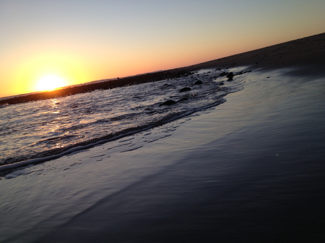 Ventura sunset.