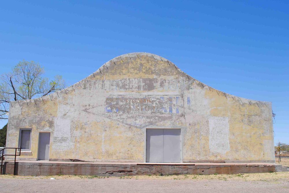Marfa facades.