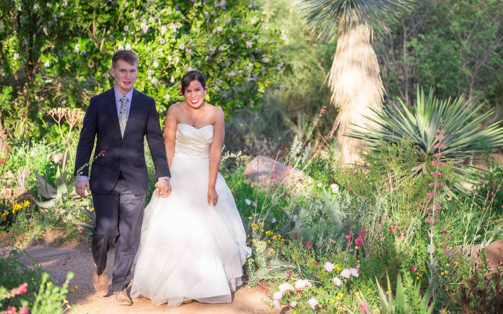 Chloe and Michael--awww, BEST decision I've made in a long time. They married in Arizona at an arboreatum near Phoenix and we took the Airstream across Texas in 5 days in order to make it there in time. These two were ROCK SOLID and this wedding was beyond amazing to cover.