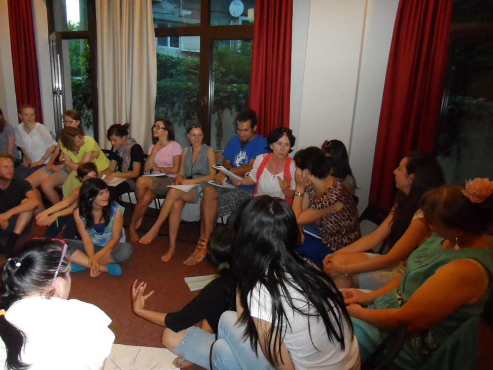 Romanians sharing healing stories for Romania - Bucharest, May 2013