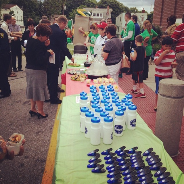 Party time at the end of the Price Hill Neighborhood Enhancement Program blitz! #NEP #mexicangoodness #latergram