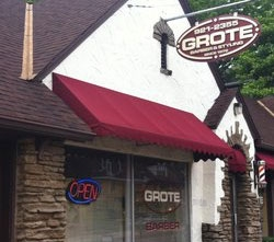 Grote Barber Shop & Styling Salon 4070 W. 8th St. Cincinnati, Ohio 45205 (513) 921–2355