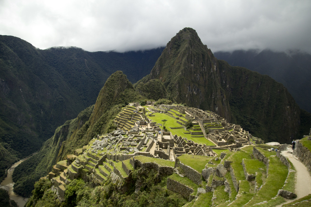 Machu Picchu, Peru. Visited this magnificent site with my mom in April.
