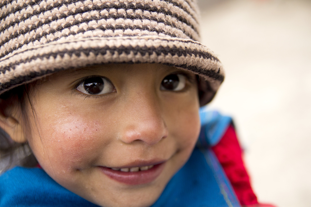 Riobamba, Ecuador. This girl kept asking for my camera.