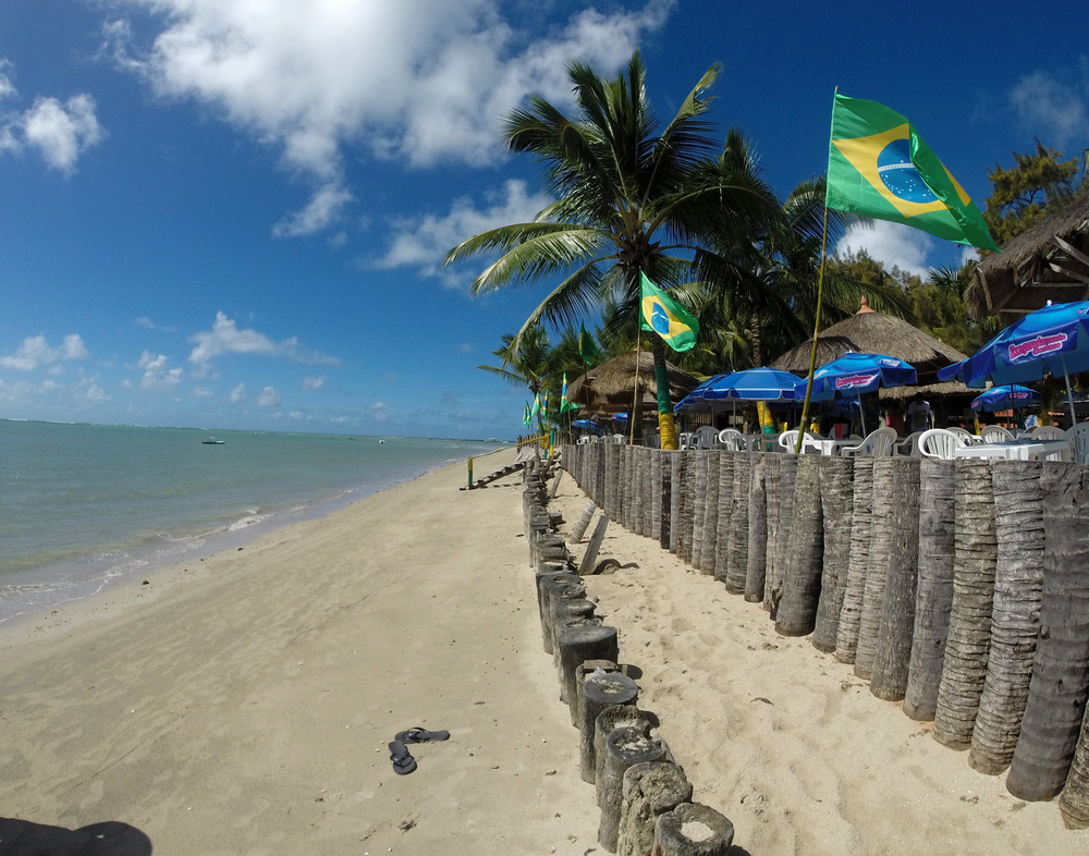 Porto de Galinhas, Brazil. One of the most beautiful beaches I've ever been to.