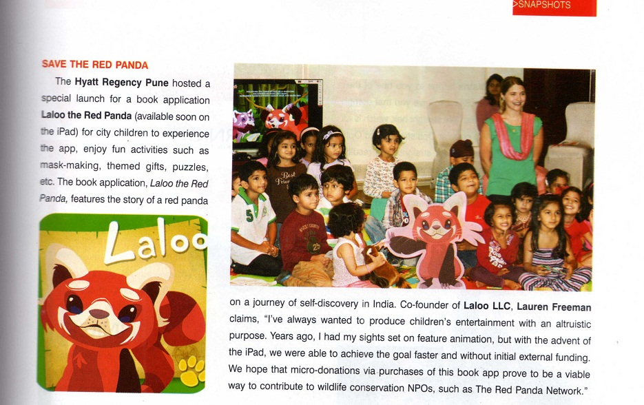 Citadel Magazine (Pune, India), October 12 2012, page 71