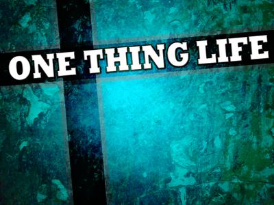 One Thing Life.jpg
