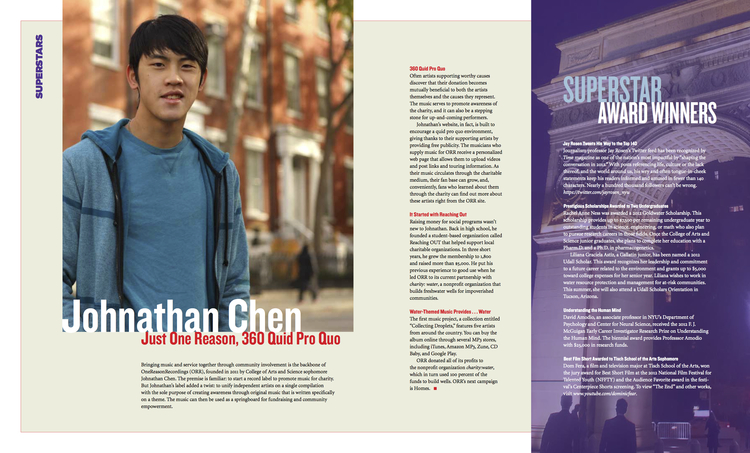 NYU Quarterly Admissions Magazine