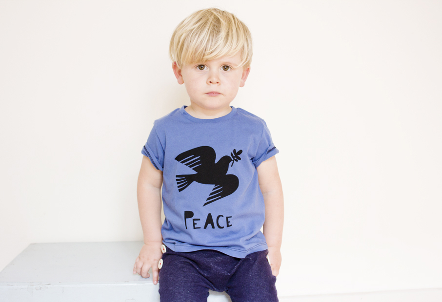 Iggy peace blue tee website.jpg