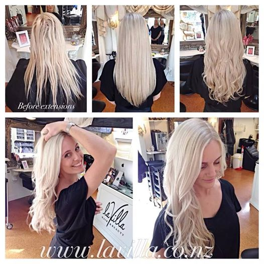 Miss universe nz finalist has extensions at la villa la villa these extensions are not only for legnth they are perfect for anybody of any age who suffers from fine hair or even a lack of hair and of course lack of pmusecretfo Image collections