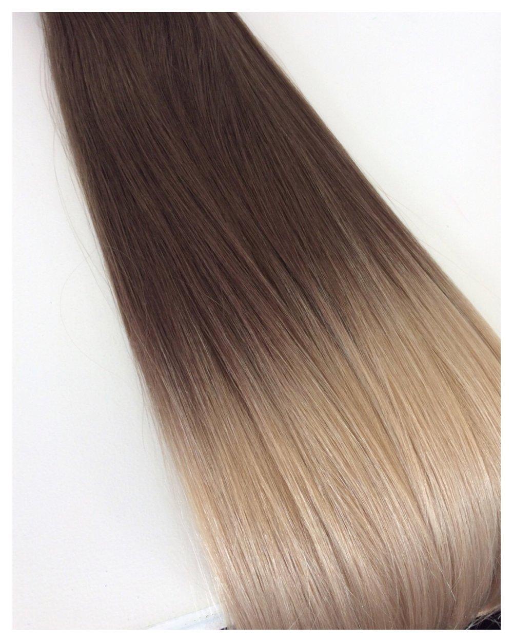 Light Brown/ Platinum Ombré