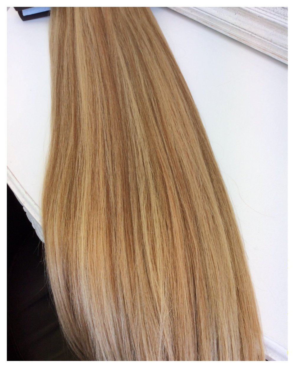 Highlighted Dark Blonde