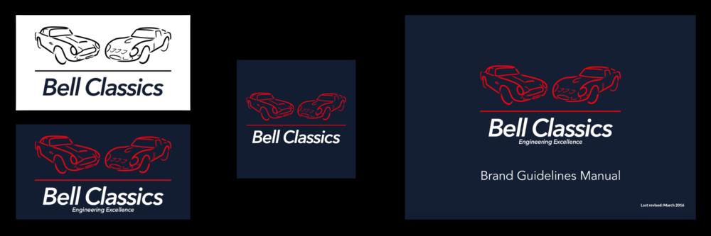 Bell Classics branding elements