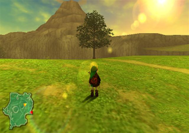 The Legend of Zelda- Ocarina of Time. Who didn't gasp in wonder at the sheer scale of Hyrule Field?