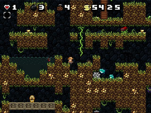 Spelunky, a great roguelike game that has been updated for the XBLA. This is the original that has been free for years.