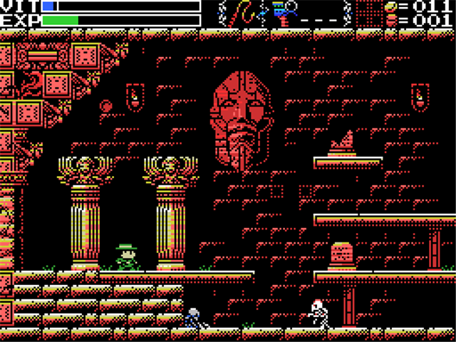 La Mulana is a simple exploration game placing you as an Indiana Jones type character... a really wonderful game!