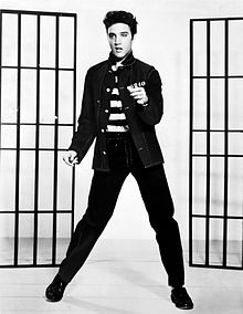 Elvis- bringing down society one hip shake at a time!