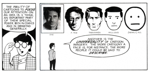 Projecting ourselves according to Scott McCloud