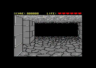 Dungeon Master on the Amstrad CPC 464.... hardcore can't even describe the difficulty of this game.