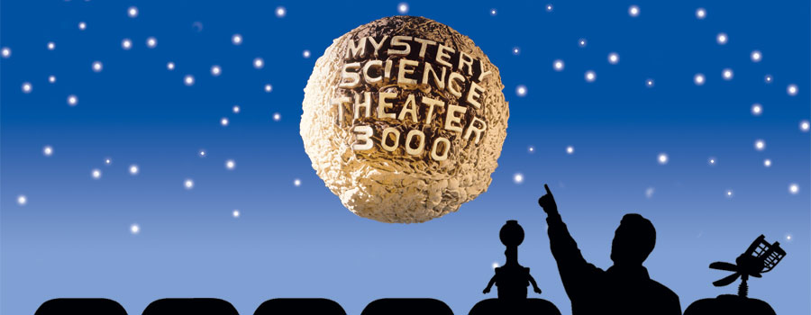 Mystery Science Theatre 3000 is a surreal website which is brilliant, I can't really say much except go there and check it out!