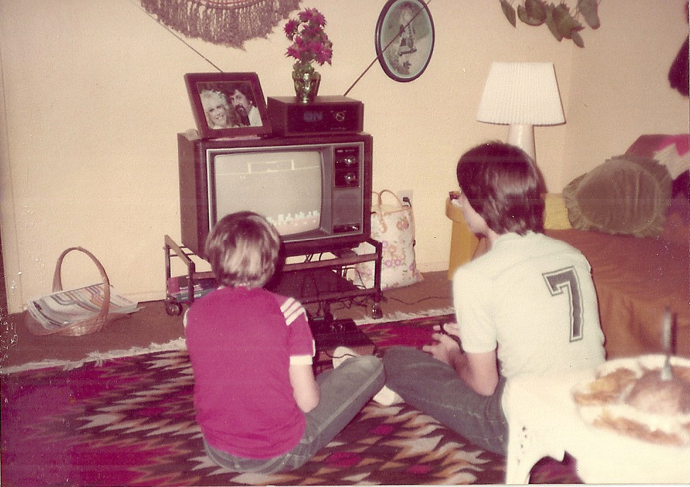 Ahhh, that carpet, those TVs.... life back in the 80's was awesome!