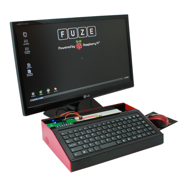 Raspberry Pi enclosed in the FUZE
